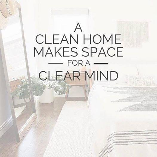 Čist dom je jednako zdravo okruženje. Kao i ključ zdravog uma.
